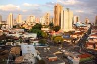 Uberlândia, een stad van ruim 600.000 inwoners.