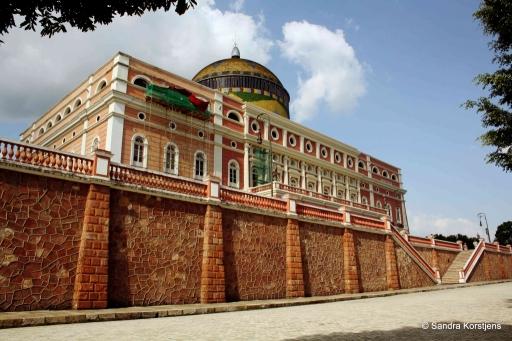 Het operagebouw in Manaus