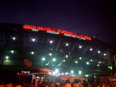 Morumbi-stadion in São Paulo.