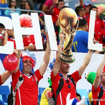 Enthousiaste Chileense fans