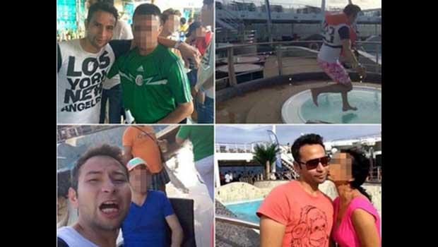De 28-jarige Jorge was met vrienden aan het feesten op het schip