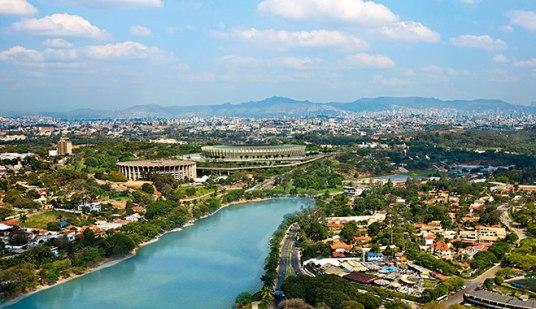 Belo Horizonte, de hoofdstad van Minas Gerais