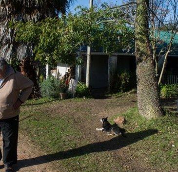 Mujica voor zijn huis